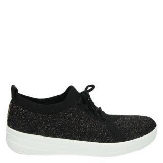 Sneaker Fitflop F-sporty Uberknit lage zwart (zwart)