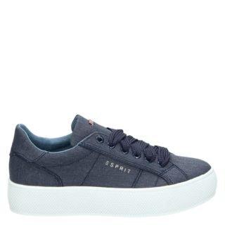 Sneaker Esprit platform blauw (blauw)
