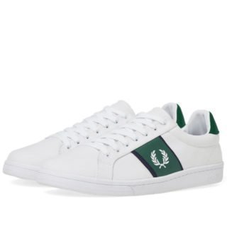 Fred Perry B721 Canvas Sneaker (White)