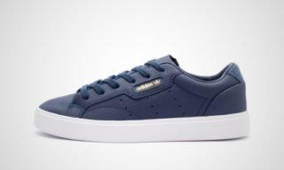 Sleek W (Navy blauw/Wit) Sneaker