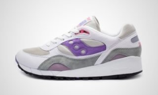 Shadow6000 (Wit/lila) Sneaker