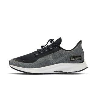 Nike Air Zoom Pegasus 35 Shield Water-Repellent Hardloopschoen voor dames - Zwart Zwart