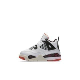 Air Jordan 4 Retro Schoen voor baby's/peuters - Wit Wit