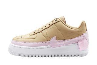 Nike Air Force 1 Jester XX (beige/roze/wit/grijs)