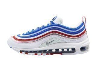 Nike Air Max 97 (multicolor/blauw/rood/zilver)