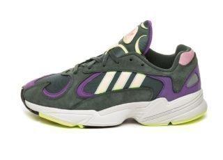 adidas Yung-1 (Legend Ivy / Hi Res Yellow / Active Purple)
