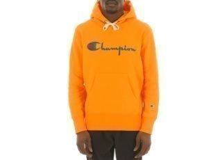 Champion Hooded Sweatshirt (Yellow)