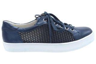 Caprice 23652 wit en blauw