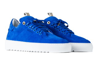Mason Garments Roma Classic - Suede - Royal Blue (SS19)