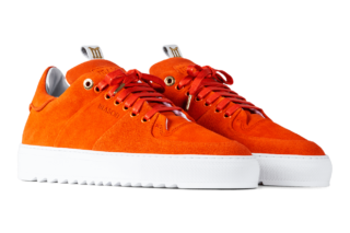 Mason Garments Roma Classic - Suede - Orange (SS19)