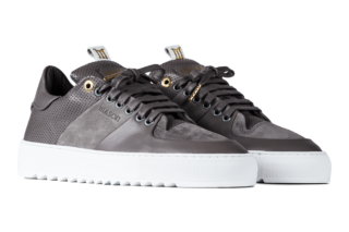 Mason Garments Roma Classic - Leather / Nubuck - Grey (SS19)