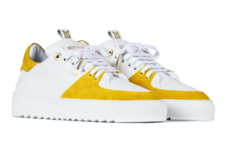 Mason Garments Roma Classic - Leather / Suede - Yellow (SS19)