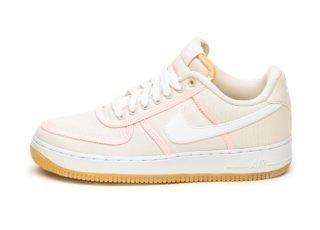 Nike Air Force 1 ´07 PRM (Light Cream / White - Crimson Tint)