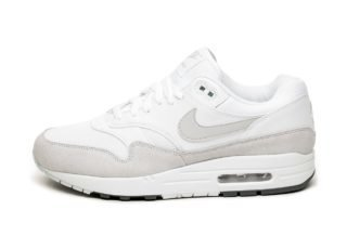 Nike Air Max 1 (White / Pure Platinum - Cool Grey)