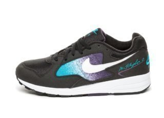 Nike Air Skylon II (Black / White - Blue Lagoon - Grand Purple)