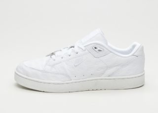 Nike Grandstand II Pncl (White / White - Matte Silver - Matte Silver)