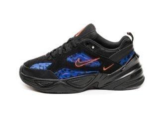 Nike Wmns M2K Tekno (Black / Habanero Red - Racer Blue)