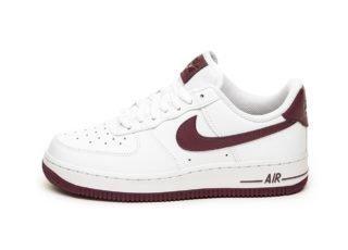 Nike Wmns Air Force 1 '07 (White / Bordeaux)