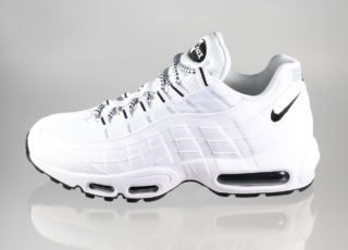 Nike Air Max 95 (White / Black - Black)