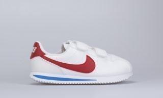 Cortez Basic SL (PSV) (White / Red) (WHITE/VARSITY-RED)