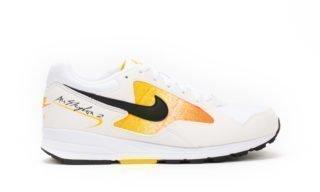 Wmns Air Skylon II (White / Yellow) (WHITE/BLACK-AMARILLO-TOTAL ORANGE)