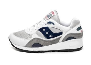 Saucony Shadow 6000 (White / Grey / Navy)