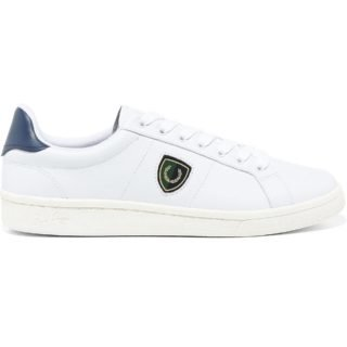 Fred Perry B721 Leather (wit)