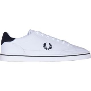 Fred Perry Deuce Leather (wit/blauw)