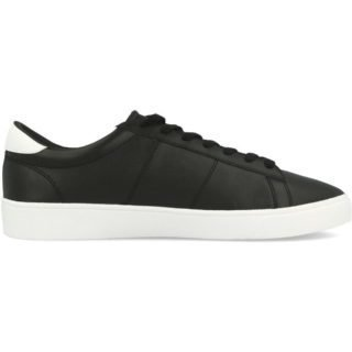Fred Perry Spencer Leather (zwart/wit)