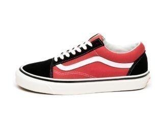Vans Old Skool 36 DX *Anaheim Factory* (OG Black / OG Red)