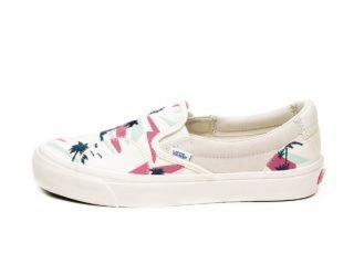 Vans Vault Classic Slip-On Bricolage LX *Embroidered Palm* (Classic Wh