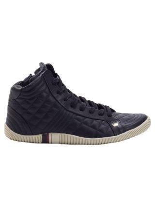 Osklen quilted hi-top sneakers (zwart)