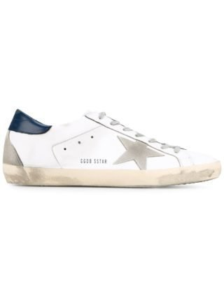 Golden Goose Deluxe Brand 'Superstar' Leather Sneakers - Wit