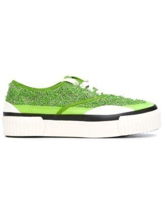 Julien David plateau sneakers (groen)