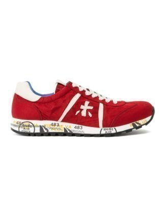 Premiata 'Lucy' sneakers (rood)