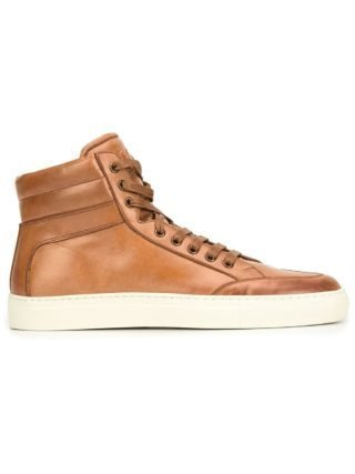 Koio Primo Castna hi-top sneakers (bruin)