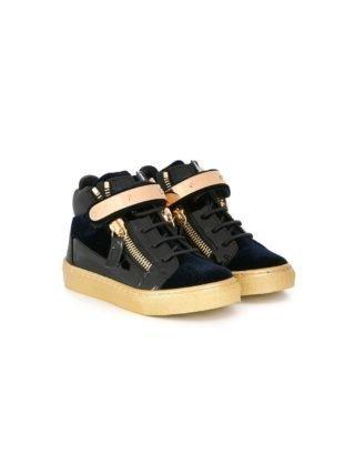 Giuseppe Junior 'Coby Junior' hi-top sneakers (blauw)