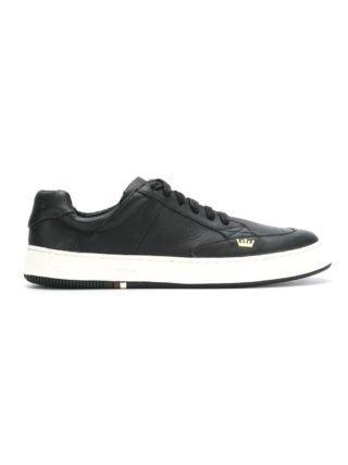 Osklen geruite sneakers (zwart)