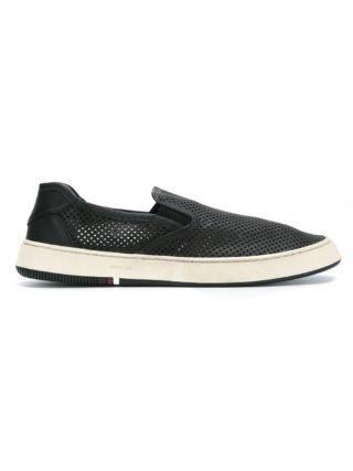 Osklen leather sneakers (zwart)