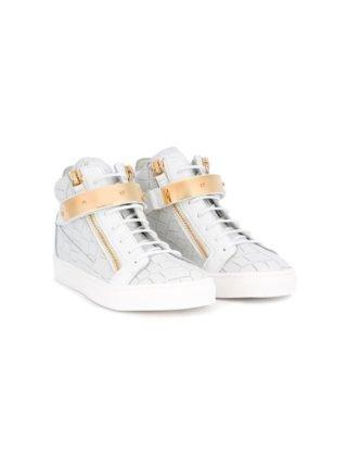 Giuseppe Junior Coby hi-top sneakers (wit)