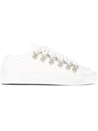 JW Anderson canvas sneakers (wit)