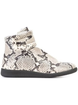 Maison Margiela Future hi-top sneakers - Nude