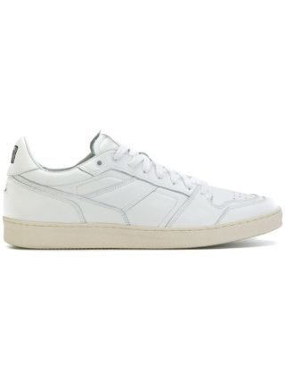 Ami Alexandre Mattiussi thin low sneakers - Wit