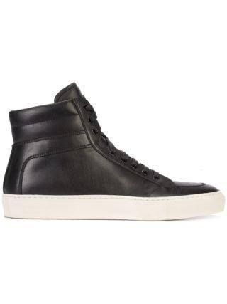 Koio Primo Onyx hi-top sneakers (zwart)