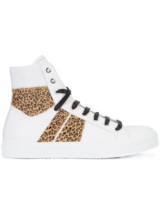 Amiri Leopard Sunset sneakers (wit)