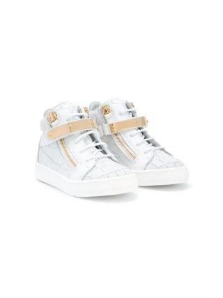 Giuseppe Junior Nicki hi-top sneakers (wit)