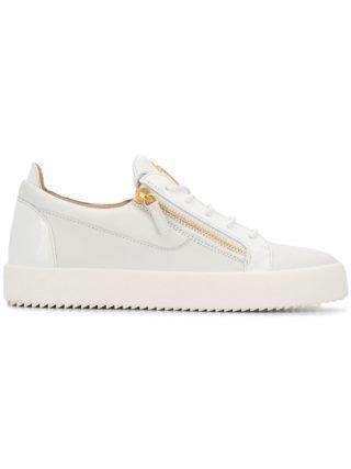 Giuseppe Zanotti Frankie low-top sneakers - Wit