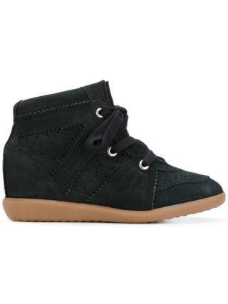 Isabel Marant Bobby wedge sneakers - Zwart