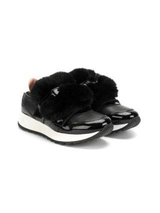 Andrea Montelpare enkellengte sneakers (zwart)