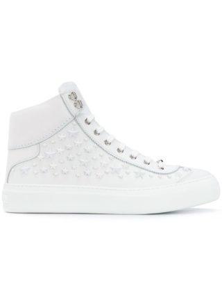 Jimmy Choo Argyle hi-top sneakers (wit)
